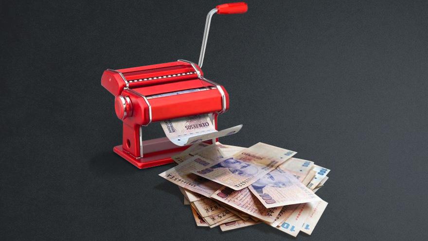 Las operaciones cambiarias ayudaron a aspirar parte de los pesos que se imprimieron en los últimos meses