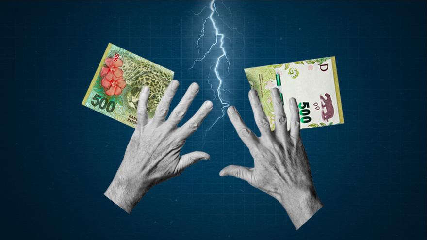 Ante la fuerte incertidumbre económica, quedarse en pesos siempre es un riesgo adicional
