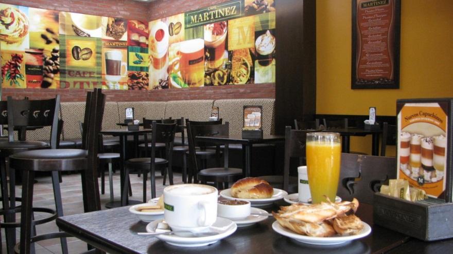 Café Martínez inauguró en mayo en Mar del Plata una nueva tienda modelo ¨low cost¨ a la barra.