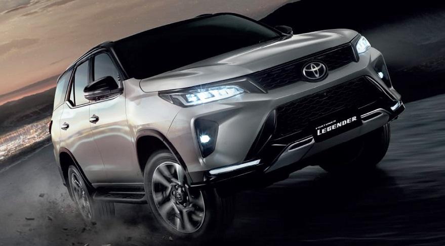 Toyota SW4, una opción grande para 7 pasajeros.