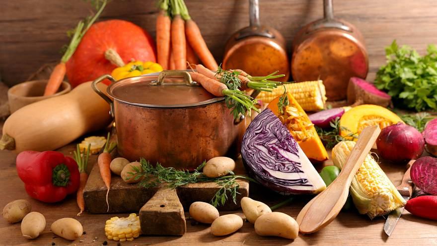 Las dietas veganas y vegetarianas incluyen productos de origen vegetal