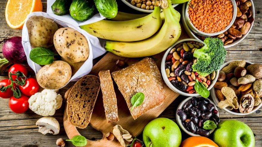 Estos son algunos de los alimentos que se pueden consumir en una dieta vegetariana y vegana