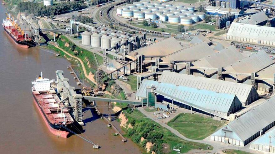 Las instalaciones de la agroexportadora Vicentín