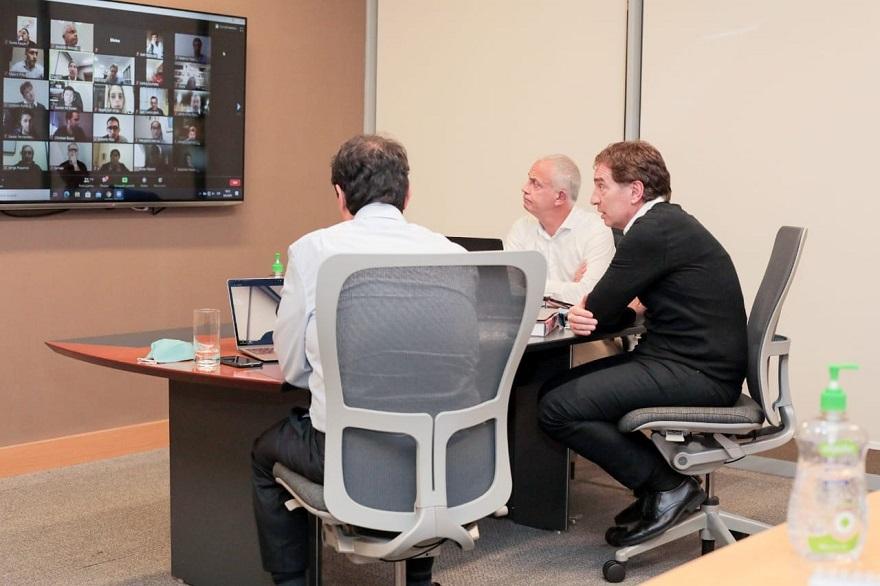 Diego Santilli participó de la inauguración de una capacitación para emprendedores y Pymes