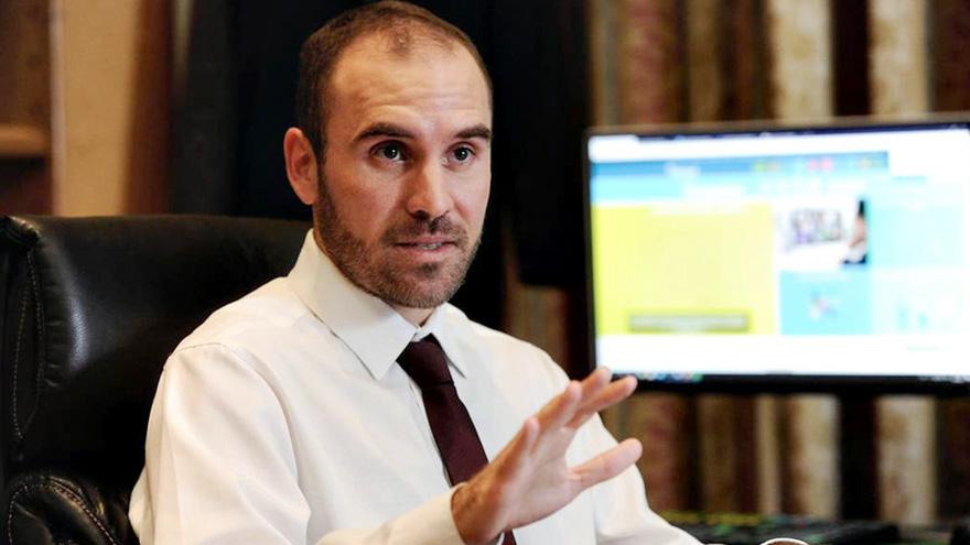 El ministro Martín Guzmán celebró el ahorro que logró con respecto al pago de la deuda