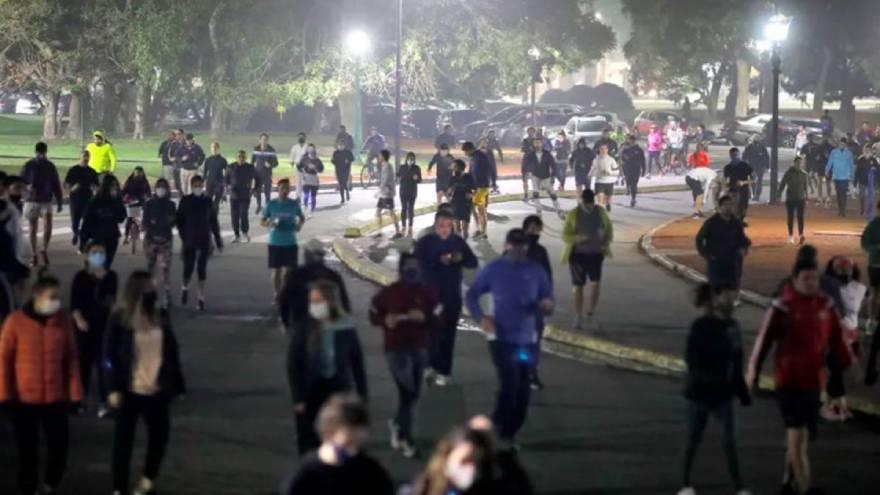 Los runners presentaron amparo para volver a realizar su actividad.
