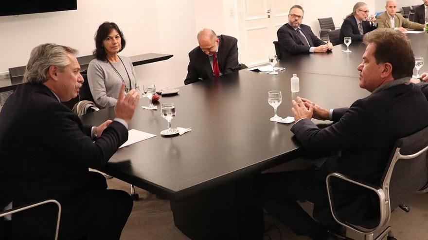 La última aparición del CEO de Vicentin fue el 11 de junio, cuando se reunió con Alberto Fernández