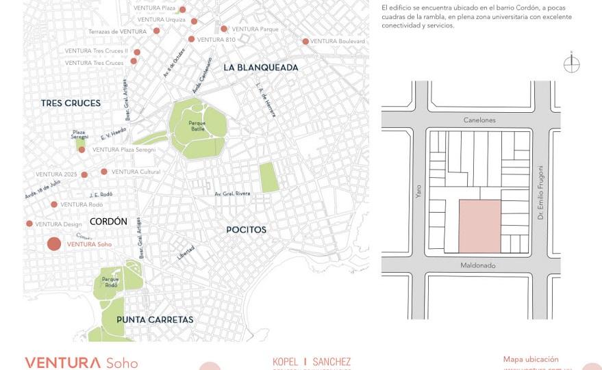 Nuevas zonas de desarrollo en Uruguay.