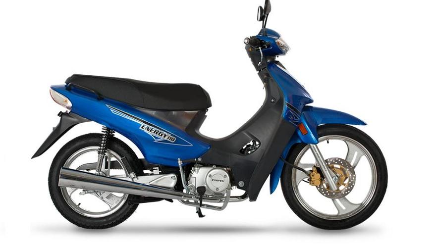 Corven Energy, una de las motos más vendidas.