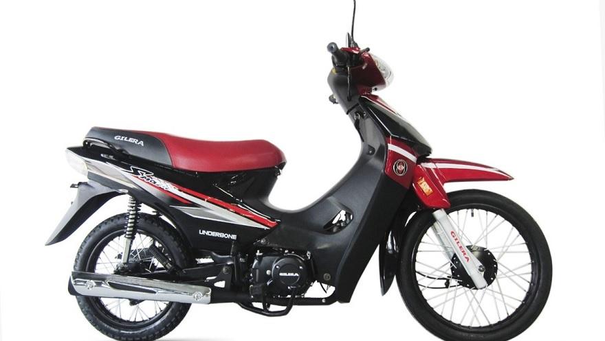 Gilera Smash 110, otra de las motos más económicas.