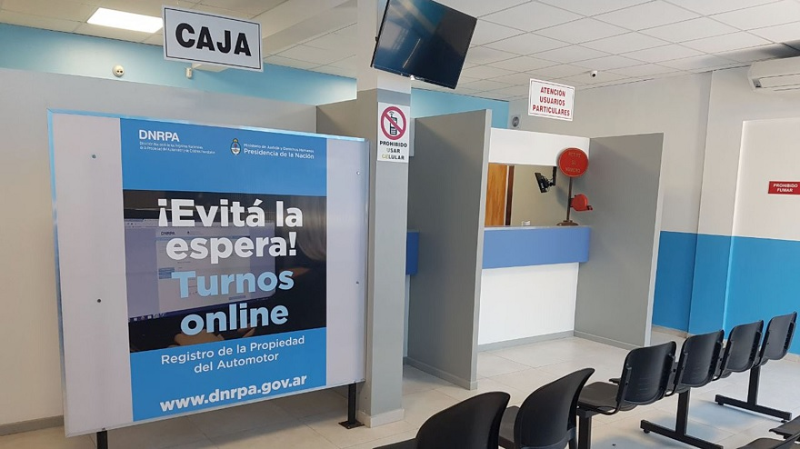 Para transferir un auto, el trámite en la DNRPA empieza online.