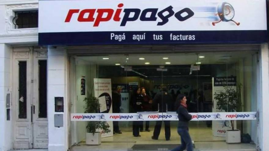 Gire gestiona la red Rapipago.