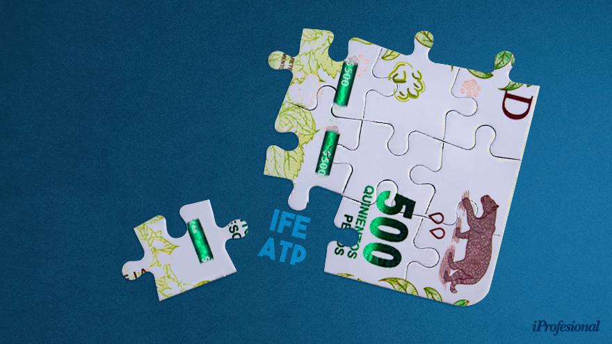 El ATP y el IFE surgieron como paliativos de la crisis económica en el marco de la pandemia.