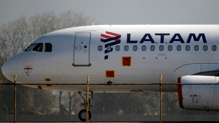 Los aviones que permanecen en Aeroparque