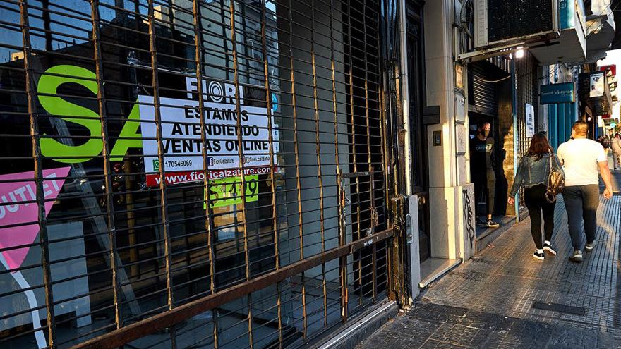 Casi el 20% de los locales porteños cerró sus puertas de forma definitiva en lo que va de pandemia.