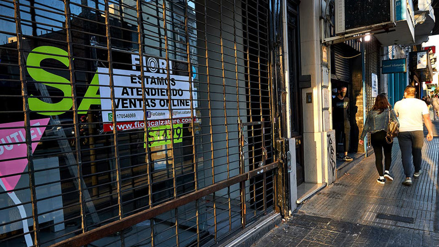 El cierre de empresas y comercios se aceleró con la pandemia