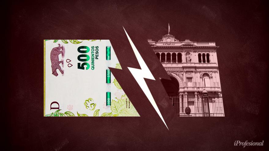El Gobierno fraccionó el aguinaldo en procura de un alivio a la frágil situación fiscal