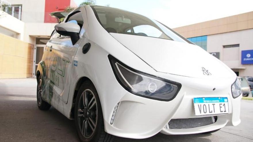 Autos eléctricos en Argentina: Volt, fabricado en Córdoba.