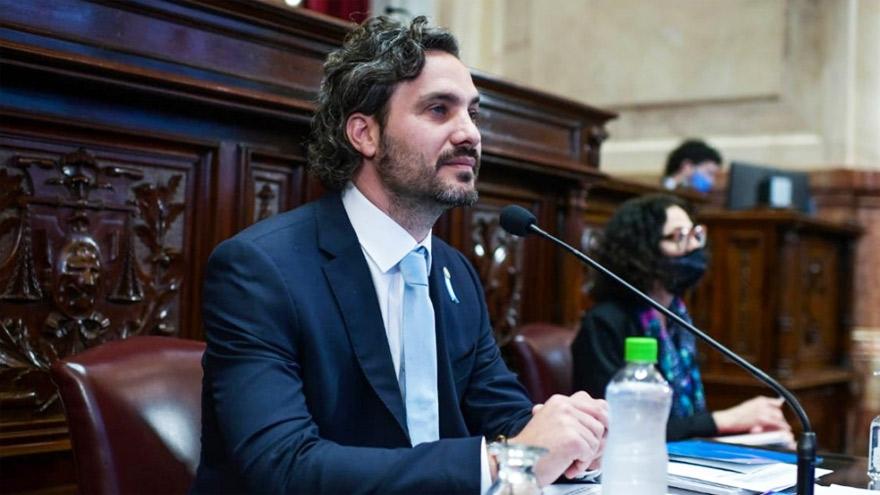 El jefe de Gabinete, Santiago Cafiero, explicó que el Gobierno se centra en el combate contra la pandemia de coronavirus