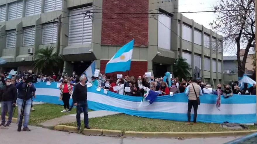 La protesta que se inició en la zona de influencia de Vicentin se extenderá a todo el interior agrícola