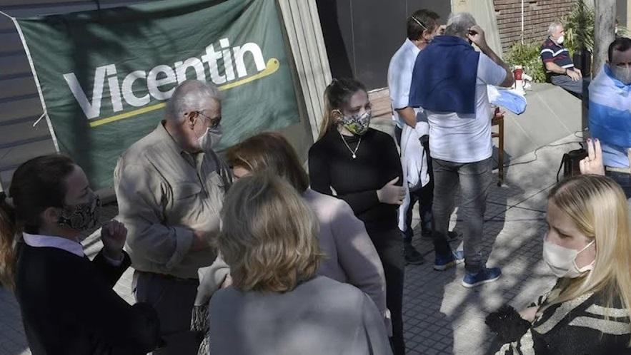 Hubo manifestaciones en el interior del país contra la intervención en Vicentin
