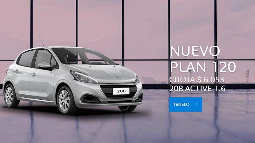Peugeot, una opción a 120 meses.