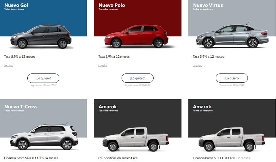 Volkswagen, con diferentes propuestas en todos sus modelos.