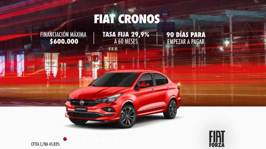 Fiat Cronos, con beneficios en junio.
