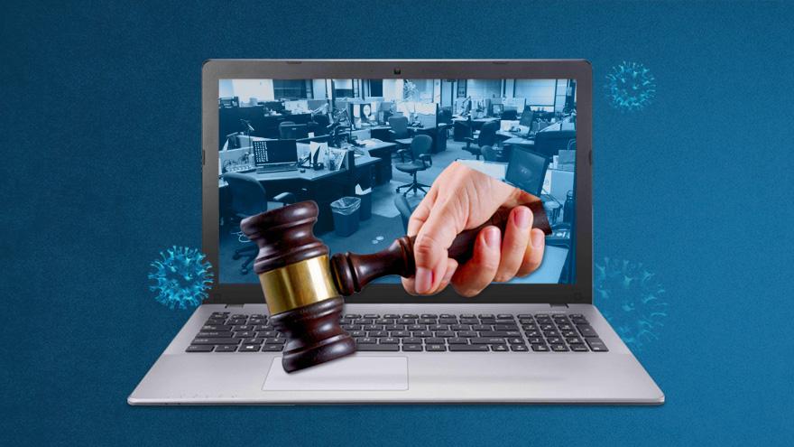 El Congreso nacional aprobó hace pocas semanas una ley que regula el teletrabajo