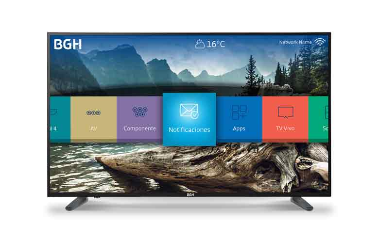 BGH expande las capacidades del TV como un centro de entretenimiento hogareño.