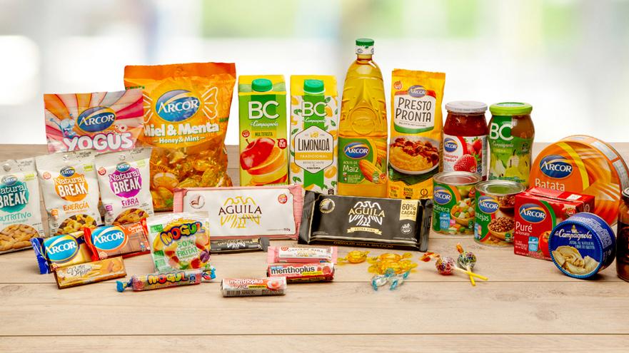 Los productos de Arcor, muchos de ellos indispensables, se siguieron vendiendo en pandemia.