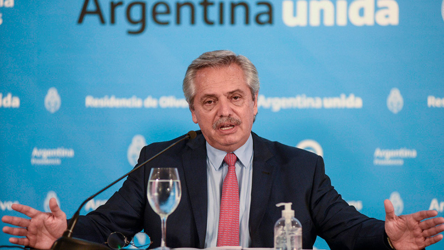 El presidente Alberto Fernández destacó, desde el principio de su mandato, que el nivel de deuda era insostenible e impagable