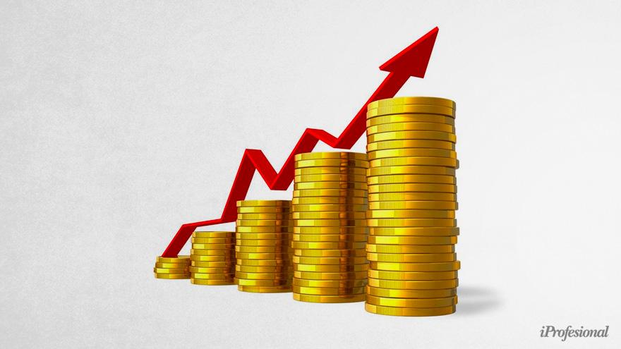 Por la crisis mundial, el oro subió de precio porque es elegido como refugio de valor