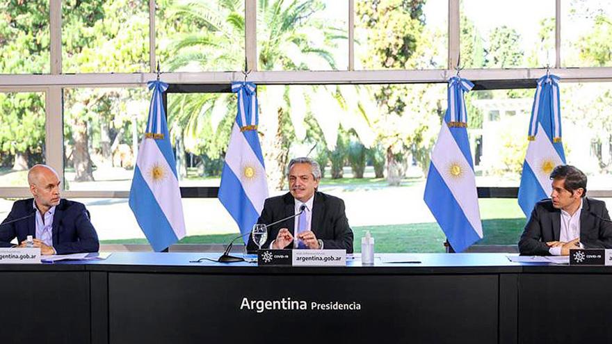 Alberto Fernández se basó en la comparación con los países vecinos para contestar las críticas por la economía