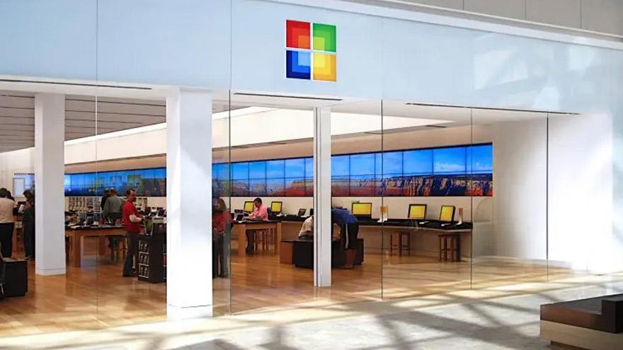 Unas pocas tiendas de Microsoft se convertirán en