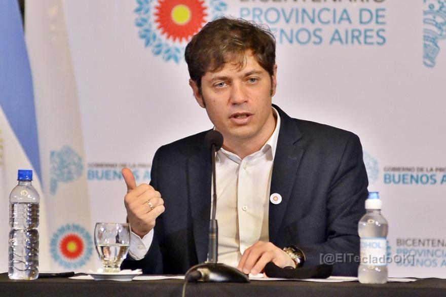 Kicillof: el gobernador anunció que se rescatarán clínicas privadas para hacer frente a la pandemia.