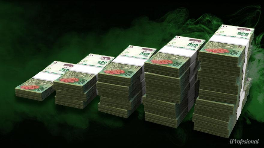 Los bancos tienen gran liquidez en pesos y los grandes depositantes se quejan de que no les toman los plazos fijos