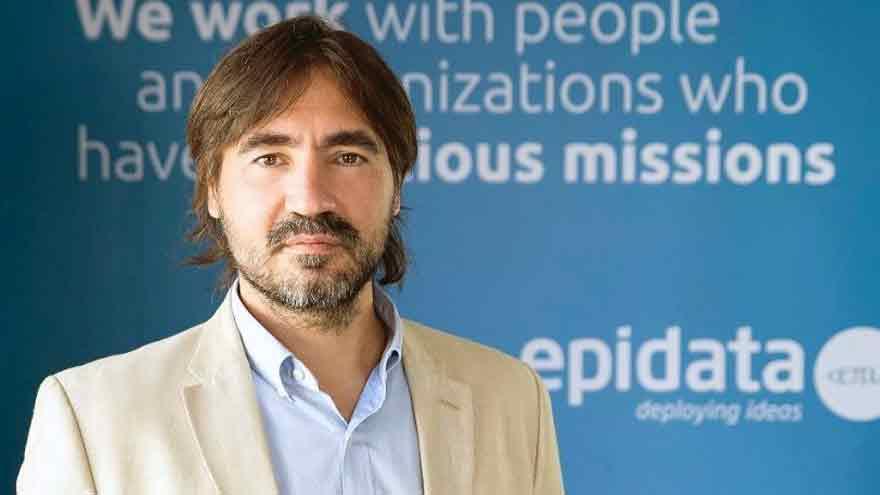 Adrián Anacleto, CEO y fundador de Epidata.