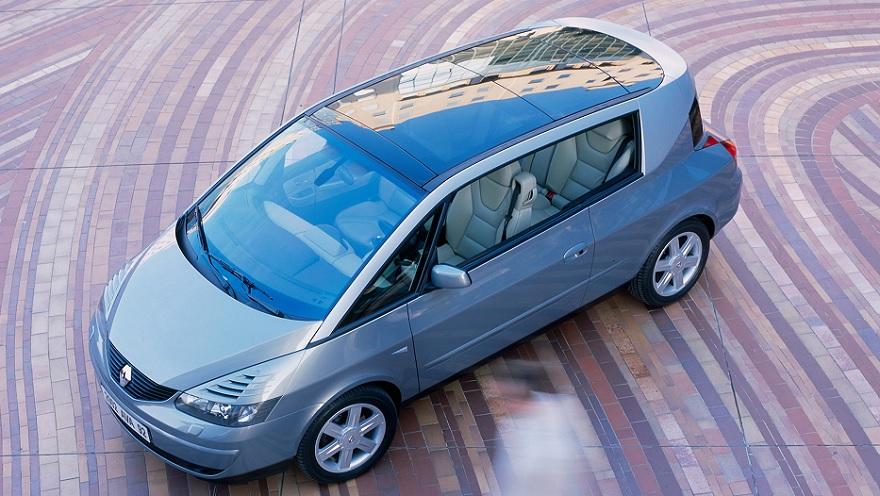 Renault Avantime, uno de los últimos fracasos.