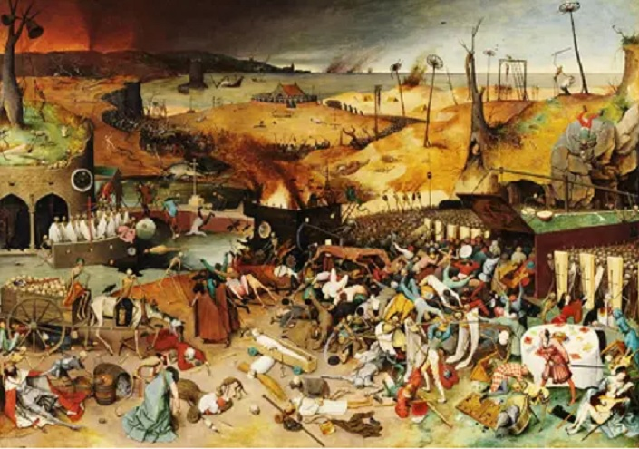 La peste negra apareció con toda letalidad en la época medieval
