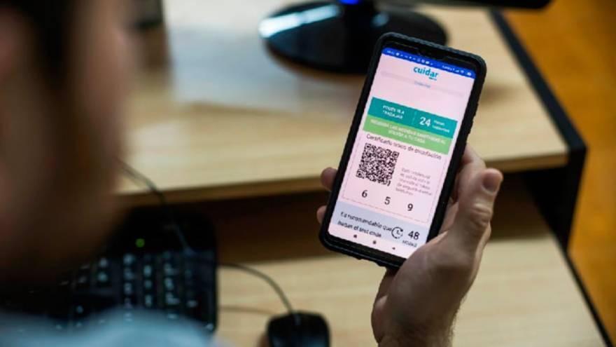 La aplicación Cuidar utiliza códigos QR para vigilar a la población en la pandemia.