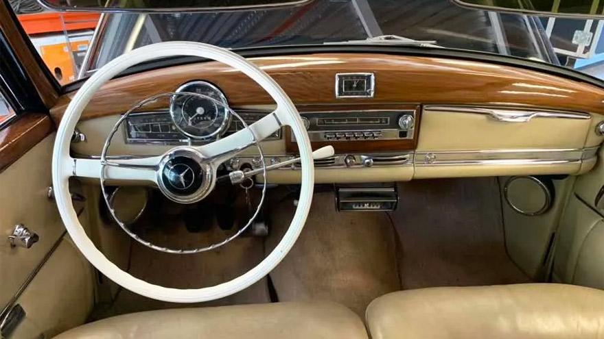 Al volante: equipamiento full-full de 1953.