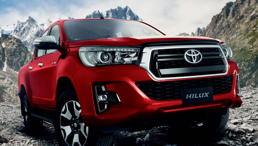 La Toyota Hilux, una de las más demandadas.