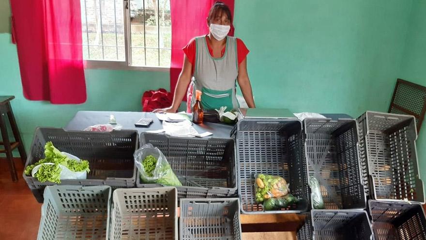 Pequeñas cooperativas productoras de manufacturas y empresas de agricultura familiar son parte de la economía popular