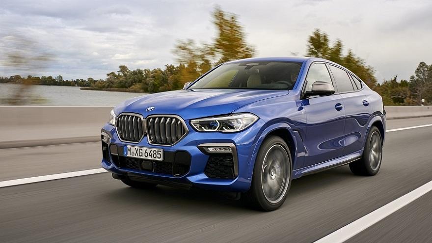 El nuevo BMW X6 cambió su parrilla.