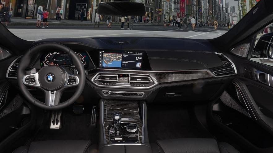 Así es el BMW X6 por dentro.