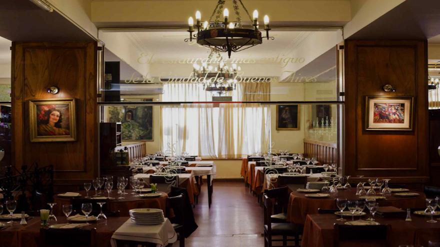 casi la totalidad de los 200 restaurantes instalados en la Avenida de Mayo y sus adyacencias exhiben sus puertas cerradas.
