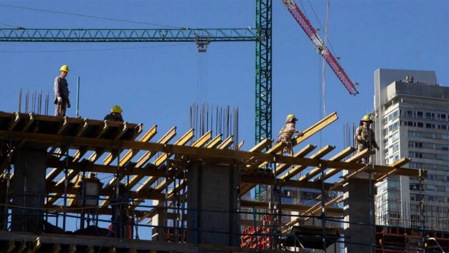 En cuarentena, la actividad de la construcción tuvo un fuerte freno en el AMBA.