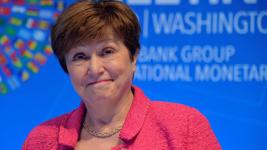 La titular del FMI, Kristalina Giorgieva, apoyó abiertamente a la postura argentina