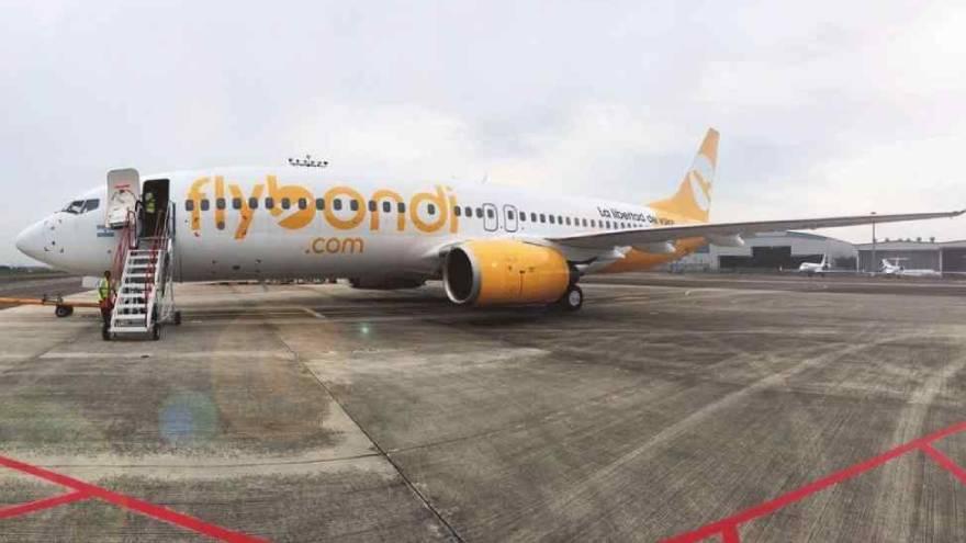 Flybondi devolvió un avión a Estados Unidos y ninguna línea aérea de pasajeros lo aceptó